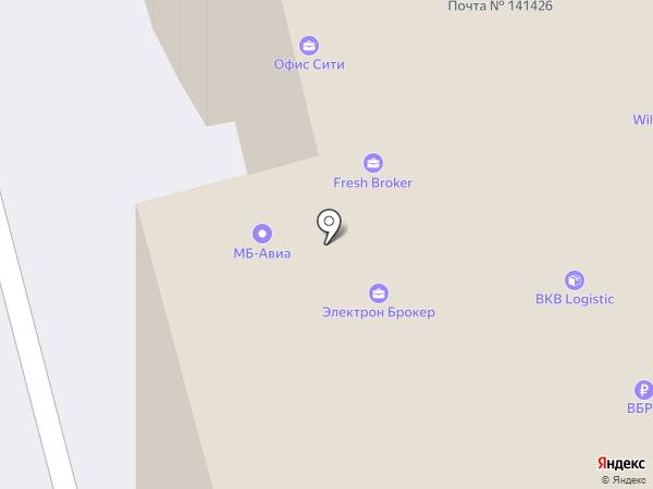 ИНМАР, ЗАО на карте Химок