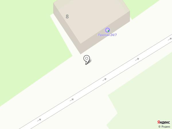 АГЗС СМТ на карте Лобни