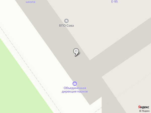 Химкинский врачебно-физкультурный диспансер на карте Химок