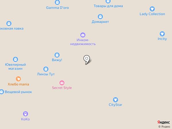 Живой хлеб на карте Москвы