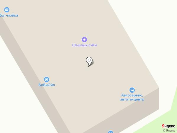 Автокомплекс на карте Лобни