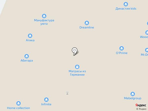 Мануфактура Уюта на карте Химок