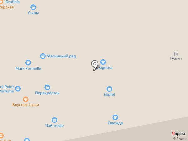 Таврия на карте Москвы