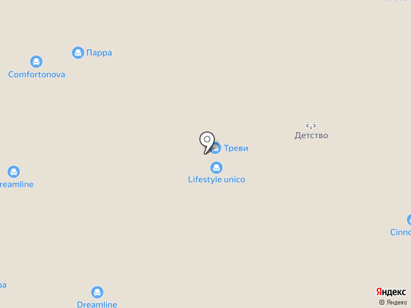 Интерьеры детства на карте Химок