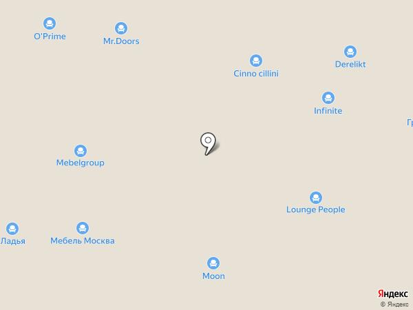 Студия К-мебель на карте Химок