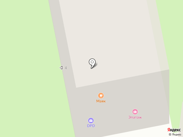 PATTERN HOUSE на карте Москвы