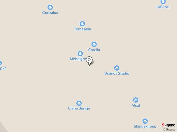 Меда-мебель на карте Химок