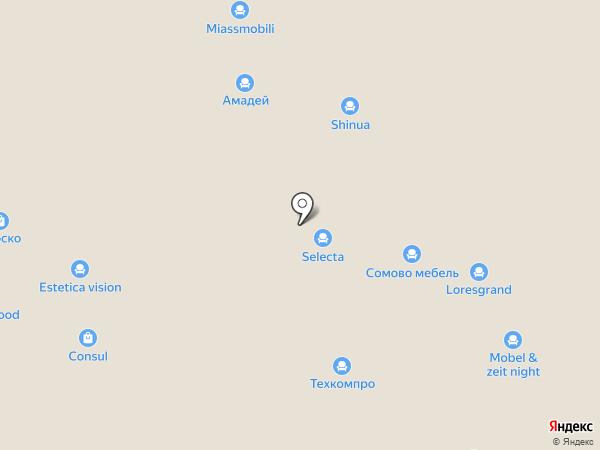Любимый Дом на карте Химок
