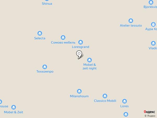 Selecta на карте Химок