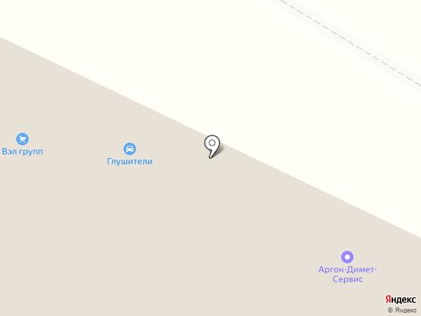 Аргон-Димет-Сервис на карте Москвы
