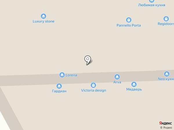 LORENA кухни на карте Химок