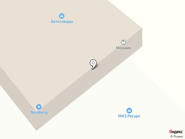 МАЗ РЕСУРС на карте Москвы