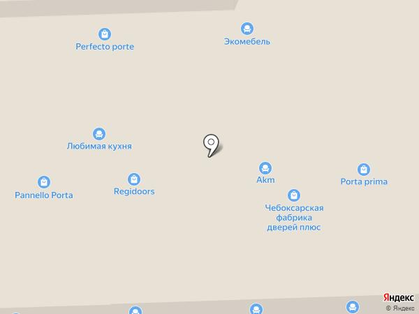 GERDA на карте Химок