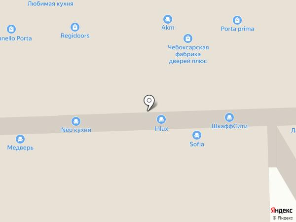 Патио Кухни на карте Химок