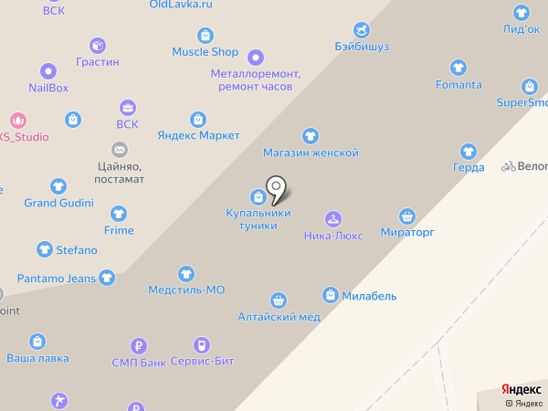 Wedding Kalinka на карте Москвы