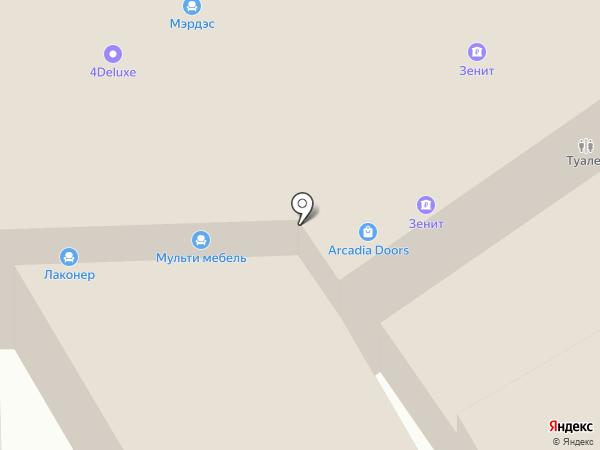 МультиМебель на карте Химок