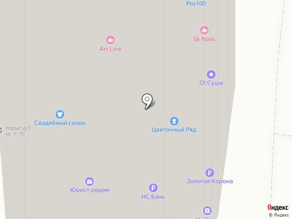 Априори на карте Москвы