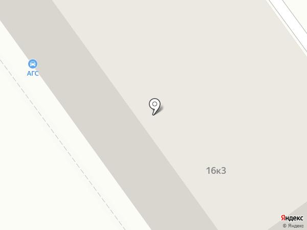 АГС на карте Химок