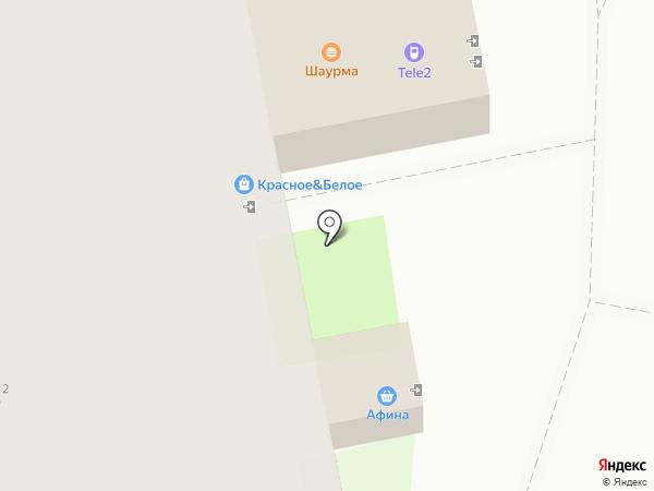 Магазин молочной продукции на карте Москвы