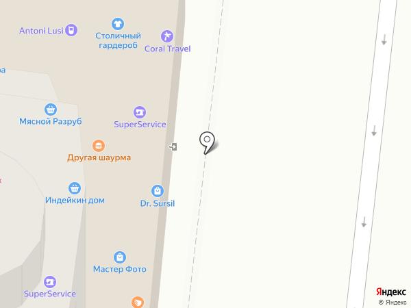 НС банк на карте Москвы