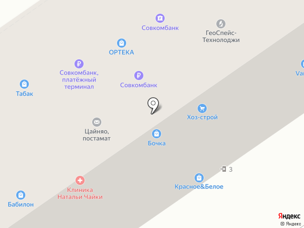 Пив Квасыч на карте Химок