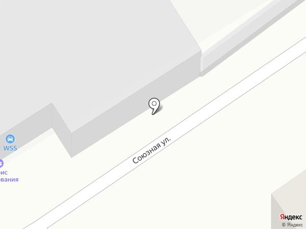 WSS на карте Химок