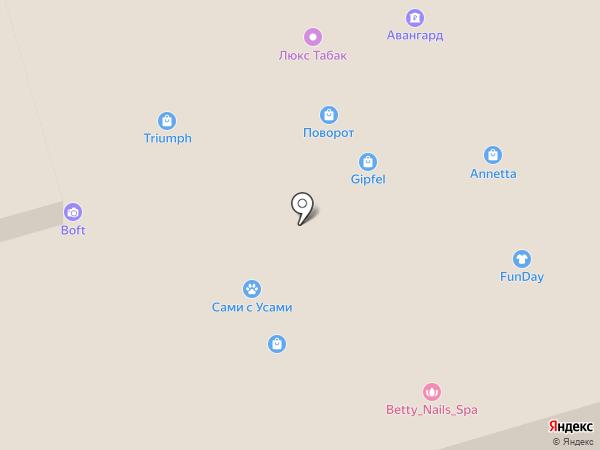 Катюшенька на карте Лобни