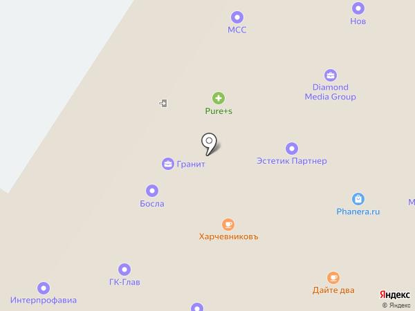 Спектр на карте Москвы