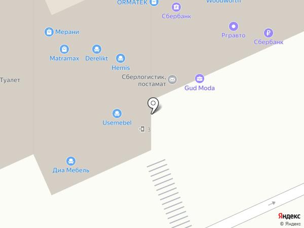 Платежный терминал, Сбербанк, ПАО на карте Румянцево