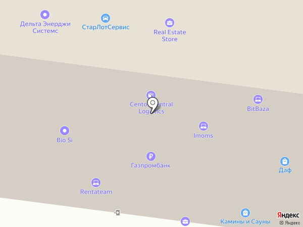 Школа мяча на карте Москвы