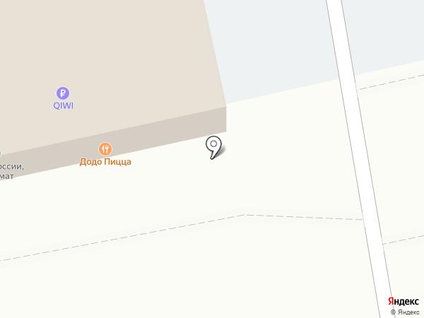 Додо Пицца на карте Москвы