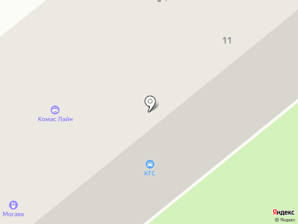 КОМАС ЛАЙН на карте Химок