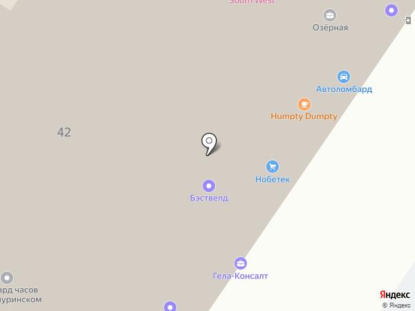 Максифлекс на карте Москвы