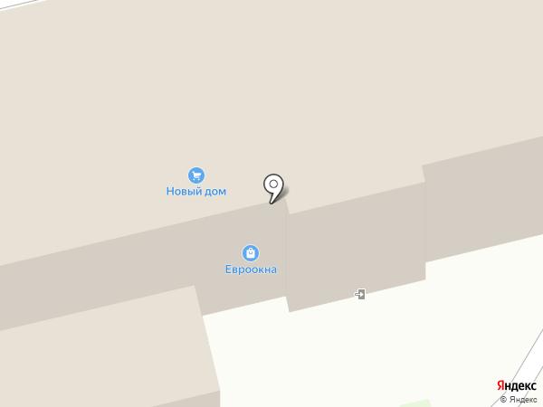 Новый дом на карте Лобни