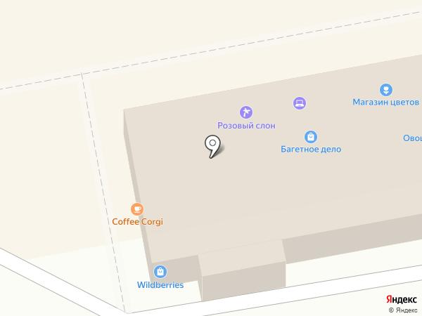 На Химкинском на карте Москвы