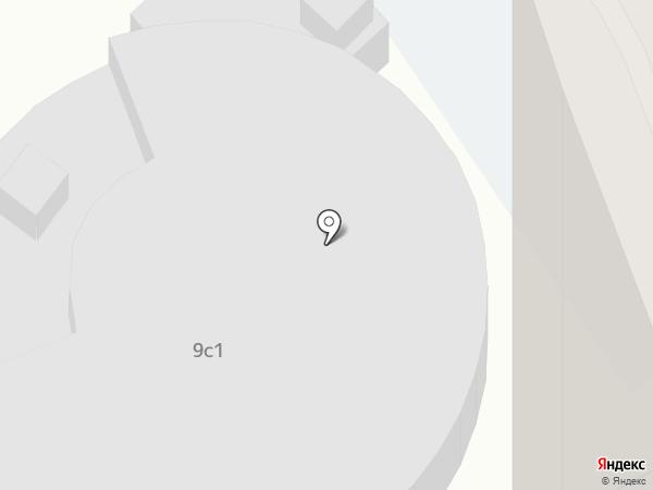 Гаражный кооператив на карте Химок