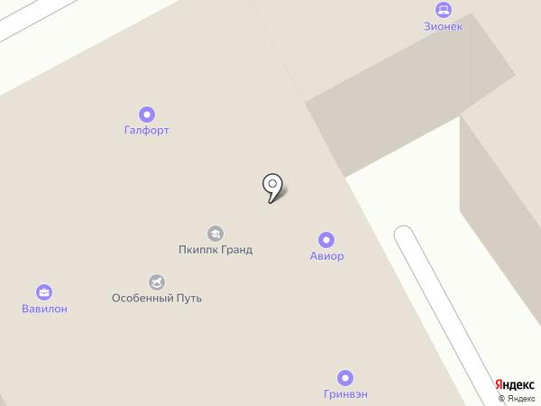 Дом на Фрунзенской на карте Москвы