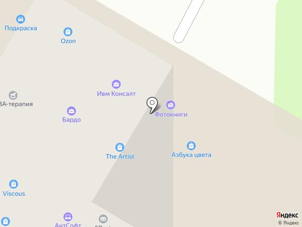 Юридическая компания на карте Москвы