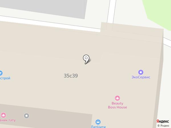 МОНОЛИТ на карте Москвы