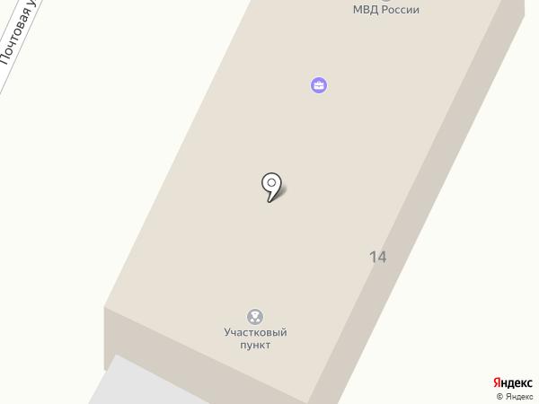 Стремиловский территориальный пункт полиции на карте Чехова