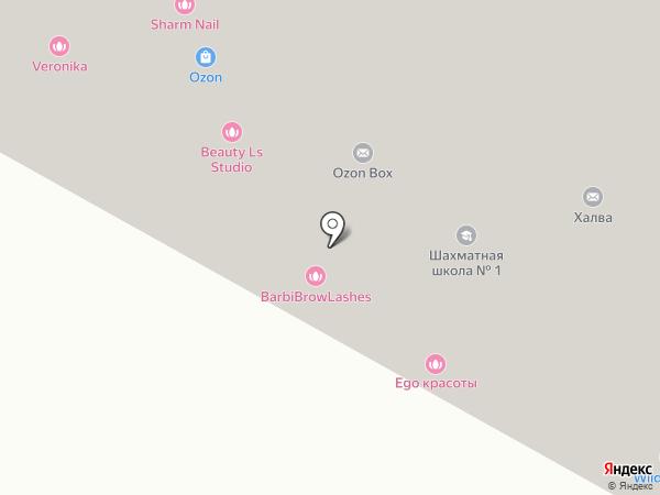 Малышок на карте Лобни