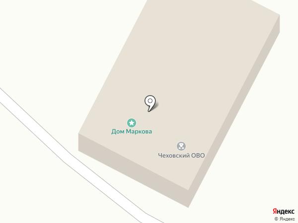 Отдел вневедомственной охраны Отдела МВД России по Чеховскому району на карте Чехова