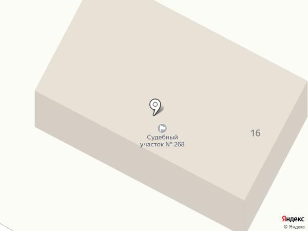 Мировые судьи Чеховского района на карте Чехова
