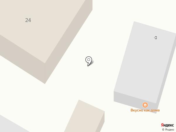 Шиномонтажная мастерская на Московской на карте Чехова