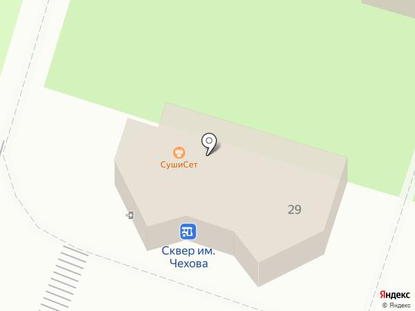 СушиСет на карте Чехова