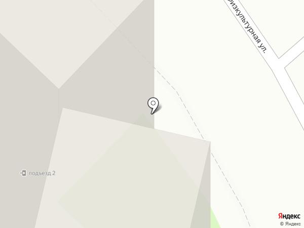 Федорук М.М. на карте Лобни