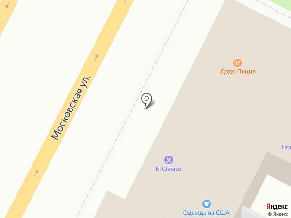 Магазин мясной продукции на карте Чехова
