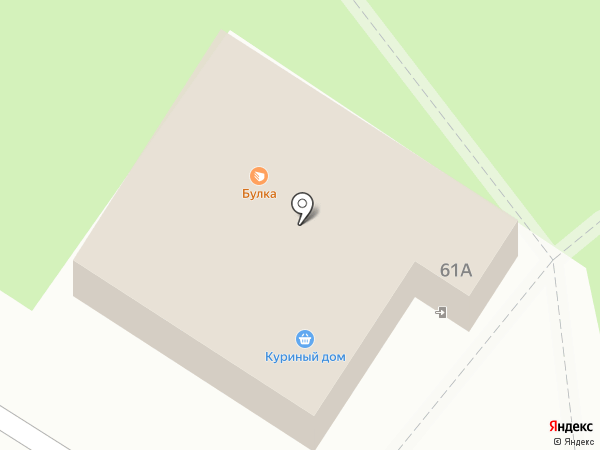 Булка на карте Лобни