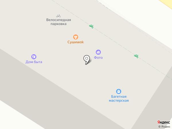 Элегант на карте Химок