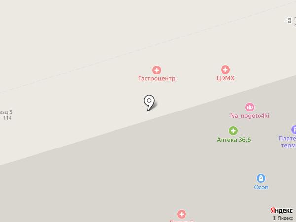 Наш-Print на карте Москвы